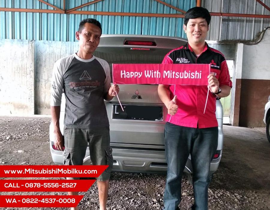 Serah Terima Mobil Mitsubishi Xpander Ultimate AT Ainur Rosyidah