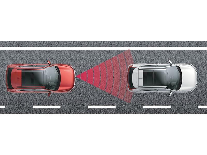 Fitur Keselamatan Mobil Mitsubishi Eclipse Cross Adaptive Cruise Control (ACC)
