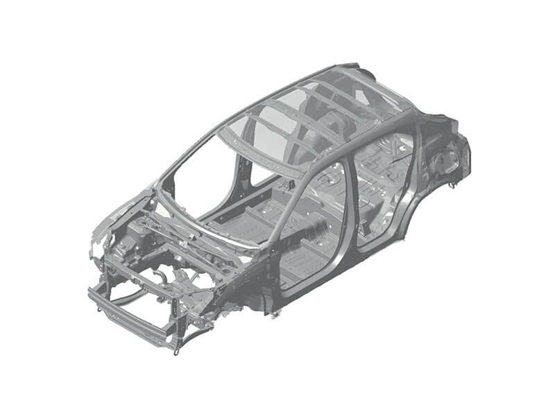 Fitur Keselamatan Mobil Mitsubishi Eclipse Cross RISE Body