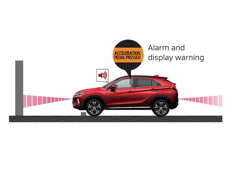 Fitur Keselamatan Mobil Mitsubishi Eclipse Cross Ultrasonic Misacceleration Mitigation System (UMS)